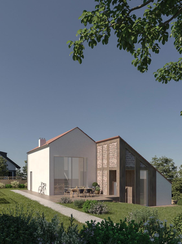 Przebudowa stodoły na dom jednorodzinny